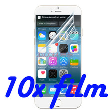 10x High Clear Screen Protector Film Screen Protective Film For Sony T2 T3 X10 XL39H Xperia C3 Screen Guard