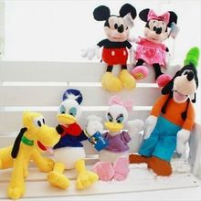 Mickey mouse,minnie mouse,Donald duck,Daisy,GOOFy dog,Pluto dog plush soft toys,mickey mouse sofft baby plush toys