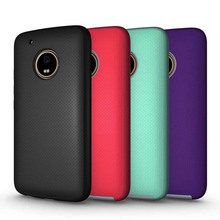 Pure Color Heavy Duty Matte Skin Hard PC TPU Shockproof Back Cover Case for Motorola Moto G5 G4 Plus Z Driod