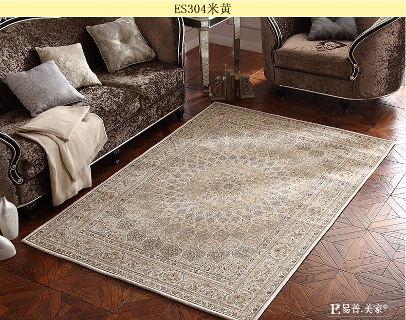 Big Size Persian Carpet 200290cm Living Room Coffee Table Rectangle Ground
