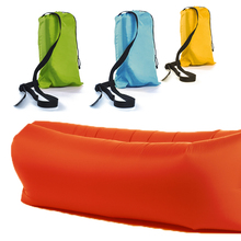 Sleeping Bag Camping Portable Air Bag Beach Bag Chair inflatable Air sofa Bed Air Hammock Lazy Bag Air Lounger beach sun chair