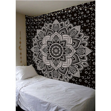 Indian Mandala Tapestry Bohemian Decoration Beach Hippie Towel Wall Hanging Carpet Blanket 148X200cm Bedspread Table Cloth