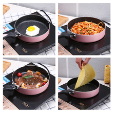 16cm 18cm 20cm Non-stick Copper Frying Pan with Ceramic Coating and Induction cooking,Oven & Dishwasher safe