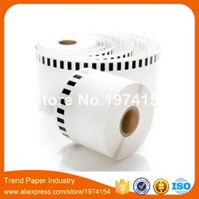 21 x Rolls Brother DK-22205 - Thermal paper - Roll (6.2 cm x 30.48 m) free send one reusable plastic frame.