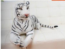 big plush tiger toys lovely white tiger toy stuffed tiger doll white tiger pillow birthday gift 90cm