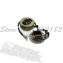 Chinese bike LIFAN 125 125cc MAGNETO STATOR FIT For 125cc LIFAN ENGINE PIT DIRT BIKE MOTORCYCLE 125LF10(China)