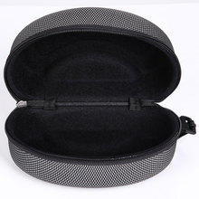 High Quality Portable Zipper Hook EVA Shockproof Waterproof Ski Glasses Case Box Eyewear Mesh Box