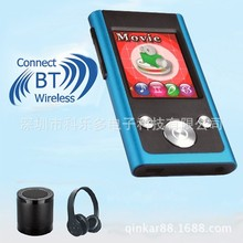 Qinkar 8GB bluetooth Sport MP3 player 1.8inch screen FM Radio e book video record bluetooth Mini portable media player(China)