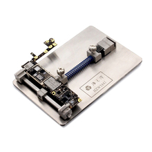 Buy Newest Logic Board NAND Chip Clamps High Temperature Motherboard Fixture PCB Holder iPhone Fix Repair Mold Tool for $28.20 in AliExpress store