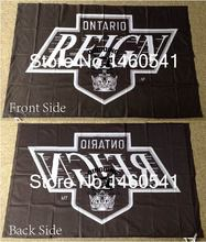 Ontario Reign Flag 3ft x 5ft Polyester American Hockey League AHL Banner Size 4 144* 96cm QingQing Flag