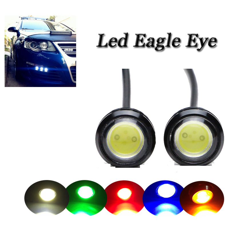 Super bright Car DRL Led Eagle eye spotlight Silver IP68 Waterproof Daytime running light Fog lamp Auto Parking Rear tail light<br><br>Aliexpress
