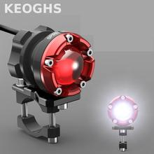 Keoghs High Quality Motorcycle Headlight/spotlight/lamp/auxiliary Light For Honda Cb190 Dirt Bike Yamaha Scooter Kawasaki Z1000(China)
