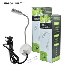 UK Delivery Wall Lights For Home Decor 3W Natural White 4000K Silver Aluminum Spotlight 2pcs/pack(China)