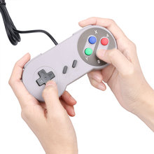 Game Accessories 1pcs Retro USB GamePad Controller Retro Super for Nintendo SNES USB Controller for windows PC Controllers