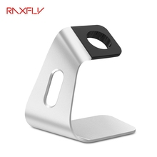 RAXFLY High-grade Sliver Aluminum Charging Dock Cradle Stand Charger For Apple Watch For iWatch 38 42mm Charger Holder Universal