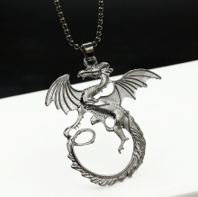 2016 New Fashion hot sale A Song of Ice and Fire Power Game Targaryen Dragon Necklace Pendant Jewelry wholesale