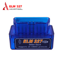 Professional Super MINI ELM327 Bluetooth Scanner V2.1 Work Android Torque Wireless Interface Auto CAN-BUS ELM 327 Supports OBDII(China)