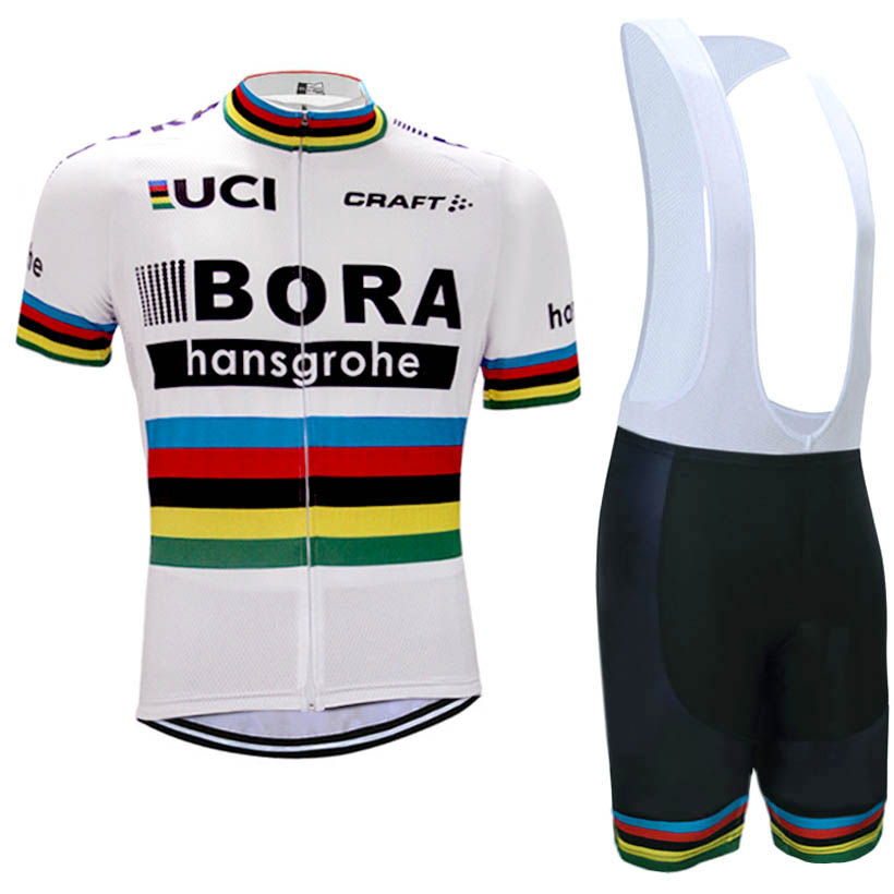 2017 BORA cycling jersey UCI team bike shorts set Ropa Ciclismo 4 colors white bora cycling wear bicycle Maillot Culotte kit<br><br>Aliexpress