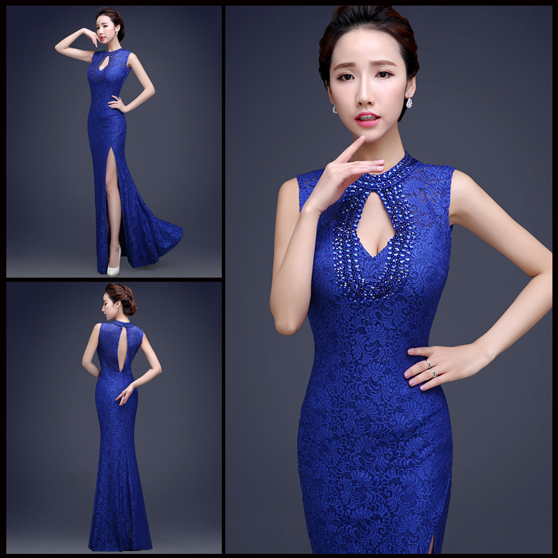Royal blue bridesmaid dresses with