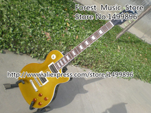 Hot Selling Slash Signature Artist China Electric Guitar Goldtop Binding Guitar Body & Kits Left Handed Available