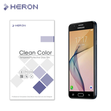 0.3mm Tempered Glass for Samsung Galaxy J5 prime 2.5d Round Border Anti Explostion Finger Print Film with Retail Package