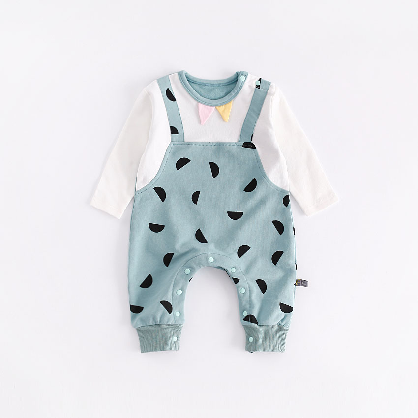 Peninsula Baby newborn girls Clothing onesie Spring Winter baby rompers baby boys Clothes lucky child jumpsuit costume overalls<br>