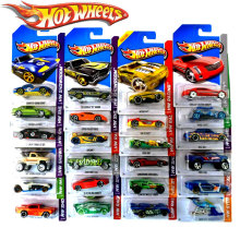 car-styling 10pcs Hot sale whosale price Genuine original Boy girl children Toys sport car HOT WHEELS race car Metal models Toys(China)