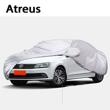 Atreus Car covers for Peugeot 407 508 Saab 9-5 Skoda Superb Chevrolet Malibu Epica Camaro Toyota Camry Sedan XL Waterproof(China)