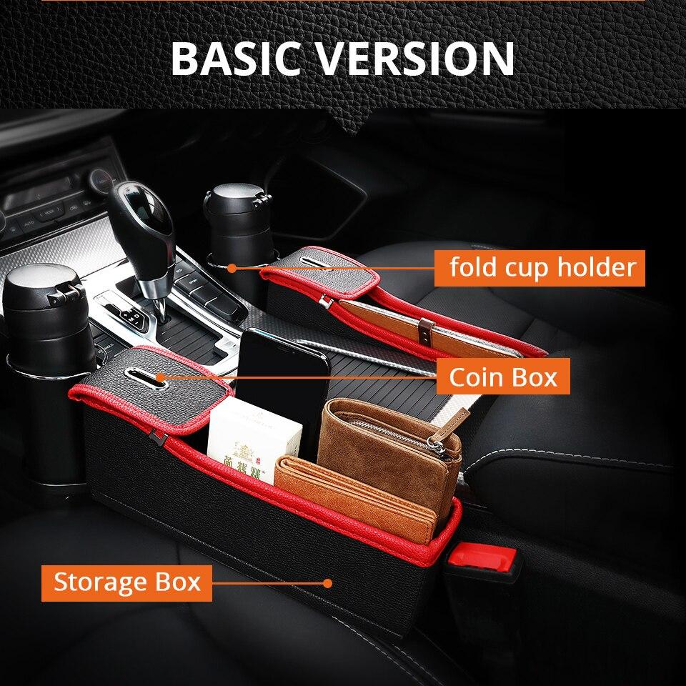 قاعدة لوضع الاغراض في السيارة مع شاحن usb 5