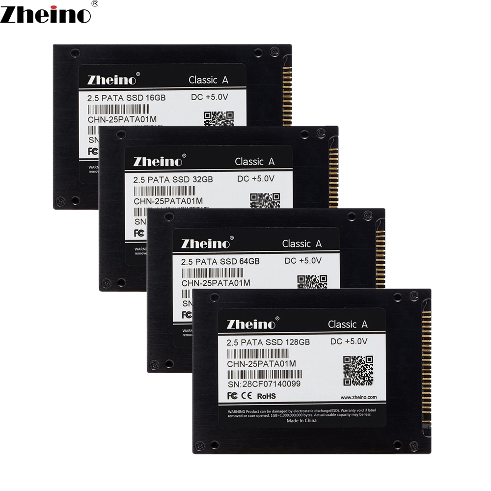 Zheino 2.5 inch 44PIN IDE PATA 16GB 32GB 64GB 128GB SSD Internal Solid Disk Drive 2D MLC Hard Disk Drive For Laptop X31 X32 T41 <br>