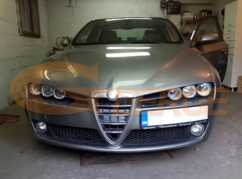 Alfa Romeo 159 cob led angel eyes kit(8)