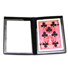 Professional Card Magic Trick Melt Optical Wallet Card Trick Easy To Do Magic Stocking Filler