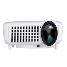 New 200inch 2500lumens 1024x768 1080P 3D Video LCD home Cinema LED HD Projector with HDMI HDTV USB