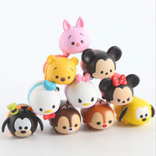 Tsum Tsum 10Pcs/lot 3.8CM Tsum Tsum Donald Mickey Winnie Duck Toys Cute Elf Doll Bathing Toy Juguetes For Chirldren Gift(China)