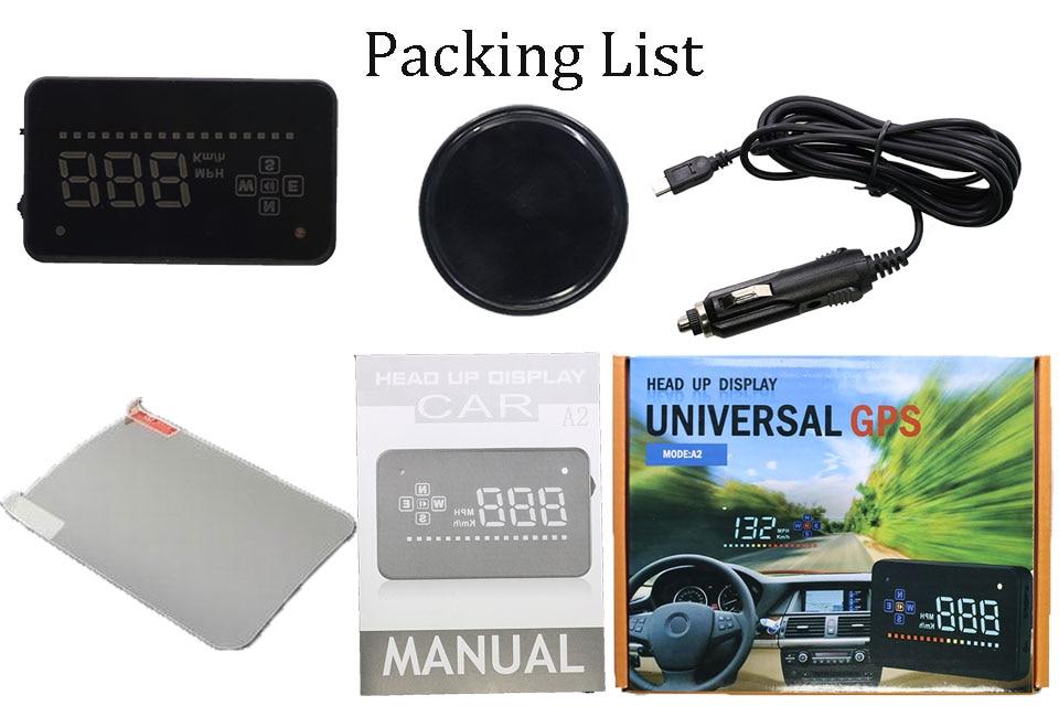 A2 GPS HUD