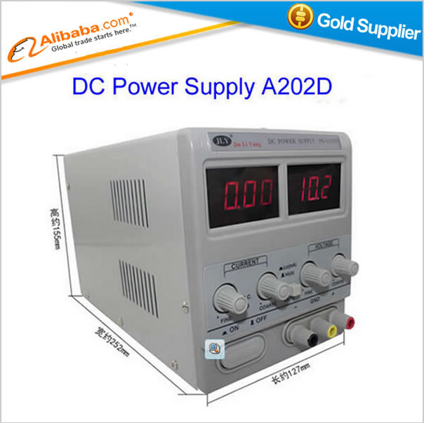 Hot selling Power Supply A202D Mobile phone repairing DC power supply , 0-20V 0-2A mobile power supply<br><br>Aliexpress
