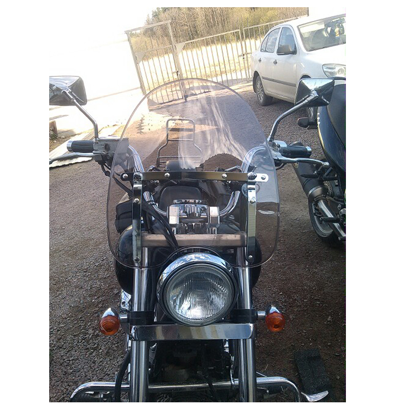 Black Carbon Fiber Motorcycle Rear View Side Mirrors for 2012 Kawasaki Vulcan 1700 VN1700J Vaquero