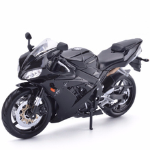 Maisto 1/12 YZF-R1 Diecast Motorcycle Model Black Color STREET GLIDE MOTORCYCLE Model Collection Kids Gifts(China)