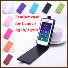 Gift With Screen Protector For Lenovo A328 A328t Colourful Case Luxury Leather Flip Cover For Lenovo A 328 t Mobile Phone Cases