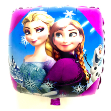 Balloons Elsa Anna Olaf Inflatable Air Foil Balloon Snow Ice Queen Princess Party Supplies Toys Kid Birthday Decoration