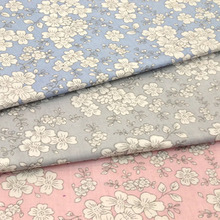 50x160cm So Pretty 3 Colors Japanese Sakura cherry blossom flower Printed 100% Cotton Fabric for quilting bedding cloth
