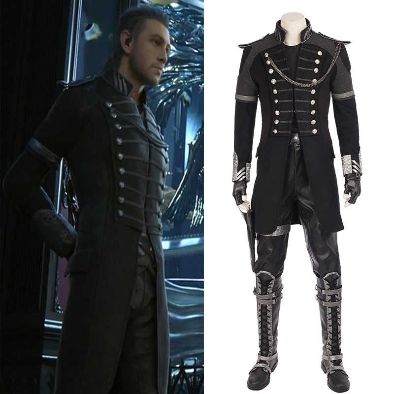 Anime Final Fantasy XV Cosplay Costumes Nyx Ulric Cosplay Costume Halloween Christmas Party Costumes Custom Made