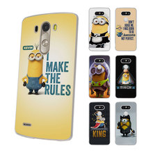 king bob Minions My Unicorn Agnes Style hard Thin clear Mobile phone shell Case for LG G6 G5 G4 K8 2017 K10 K5 V10 V20