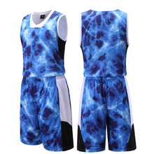Top Quality professional men basketball jersey set new boys college team training jersey suits breathable sports jersey uniforms(China)