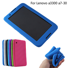 Free shipping For Lenovo Tab A3300 7.0 inch tablet silicon case sweety silica gel Soft back cover case(China)