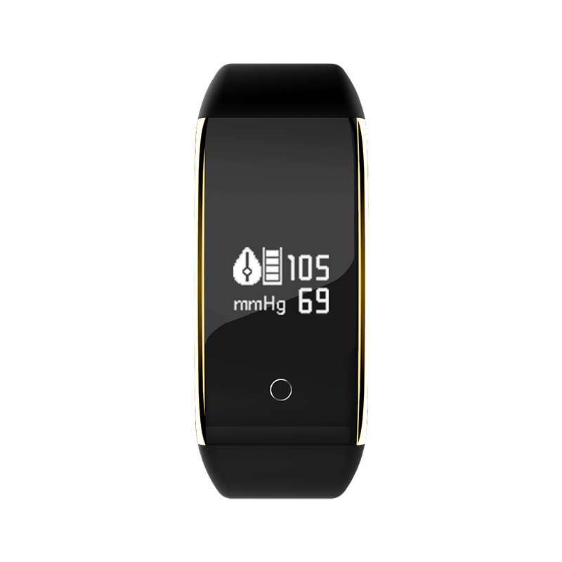 Waterproof Android Pedometer + Blood Pressure & Heart Rate Monitor Wrist Watch 23