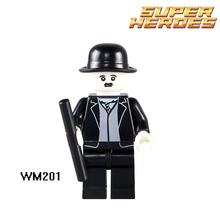 Building Blocks Chaplin Charles Spencer Star Wars Batman DC Super Heroes Model  Action Bricks Kids DIY Toys Education Hobbies