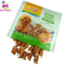 DOGBABY Dog Chicken Snacks Feeder 100% Fresh Material Pet Food Health Puppy Chew Training Snack Delicious 400g/piece Food Feeder(China)