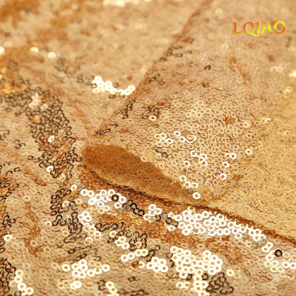 Gold Sequin Curtain Backdrop-006