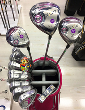 Golf complete sets xxio Men women golf club set 917 drivers fairways irons putters M2 G30 maruman fl solaire xr(China)